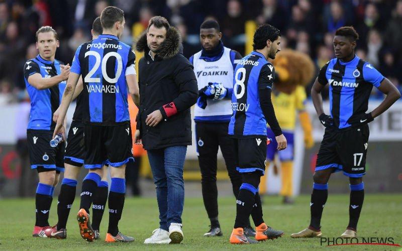 Anthuenis twijfelt aan titelkansen Club Brugge, en wel hierom