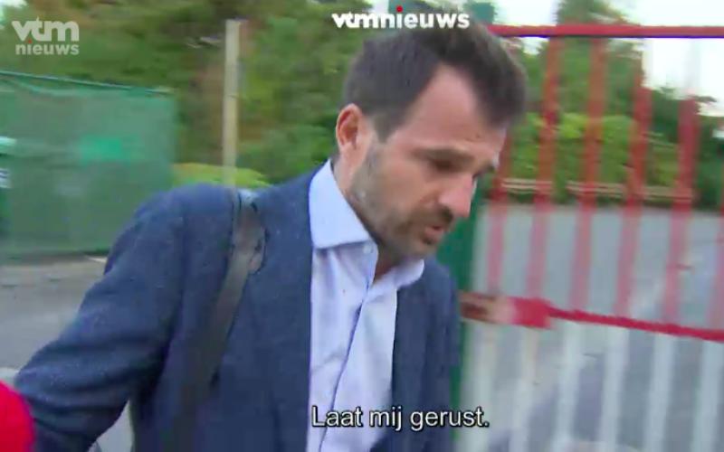 Leko krijgt het aan de stok met VTM-journalist: