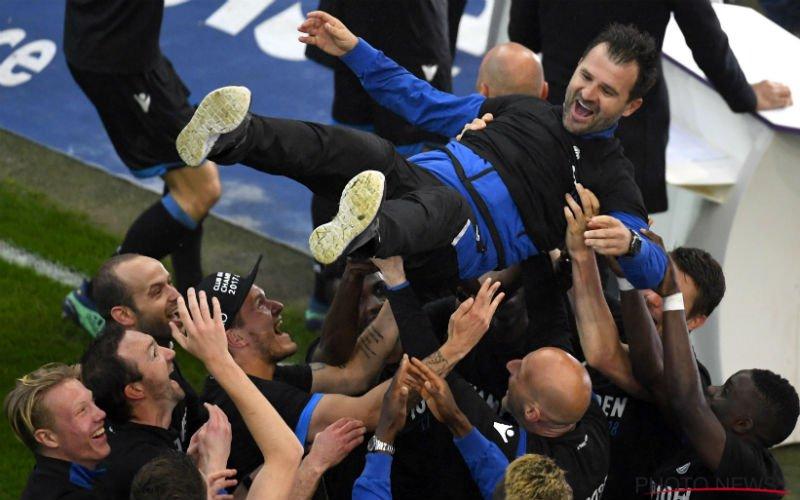 Club Brugge verdiend kampioen, maar met erg zure nasmaak: