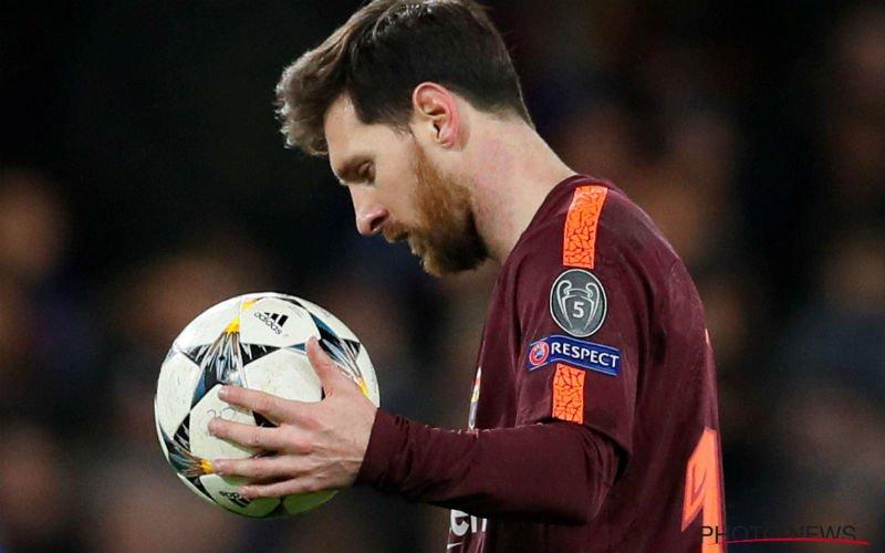 Messi doet het alweer voor Barcelona, Bayern nu al klaar met Besiktas