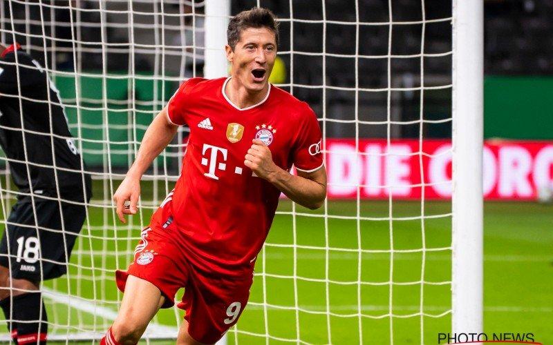 'Lewandowski trapt Bayern voorbij Messi in waanzinnige kraker'
