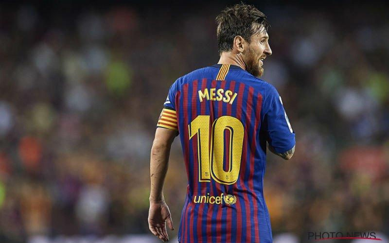 Messi eist verrassende transfer bij Barcelona: '50 miljoen'