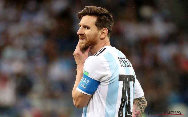 De reactie van Lionel Messi bij flater van Willy Caballero zegt álles