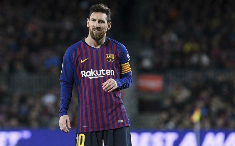 Barcelona maakt zich grote zorgen om Lionel Messi