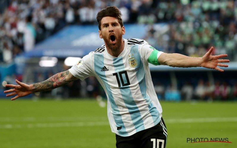 Argentinië in extremis tóch naar achtste finale, Kroatië groepswinnaar