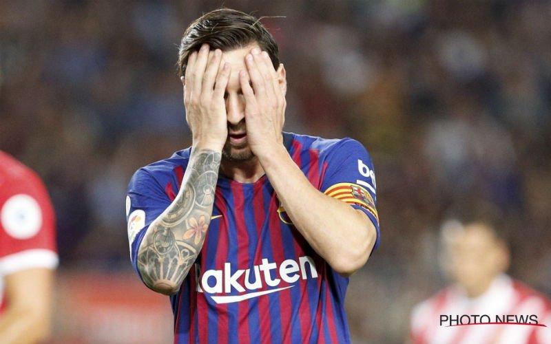 'Lionel Messi is het kotsbeu en laat bom ontploffen bij Barcelona'