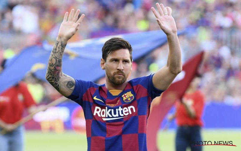 Messi baalt bij Barcelona: