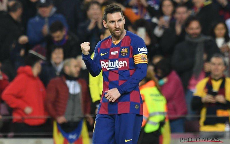 'Lionel Messi zet licht op groen voor absolute supertransfer'
