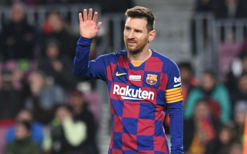 'Lionel Messi eist vertrek van peperdure speler bij Barcelona'