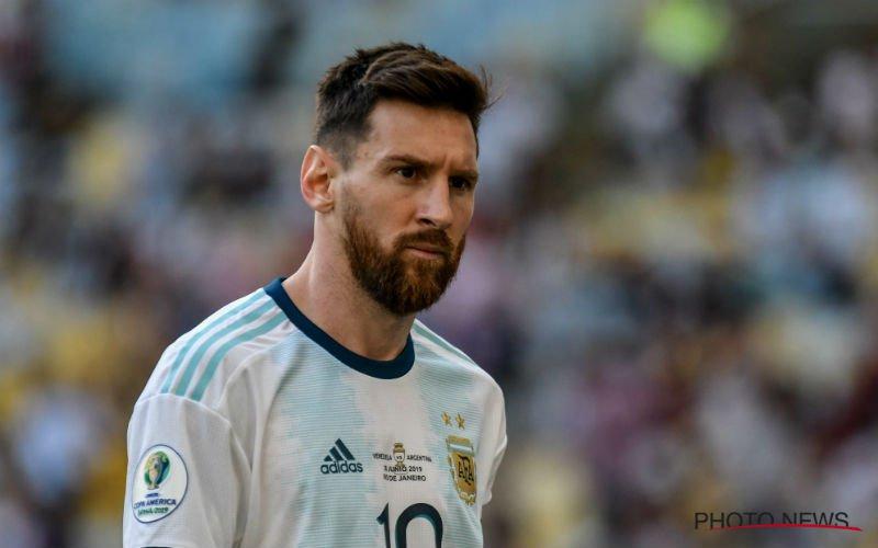 'Monsterschorsing voor Lionel Messi'
