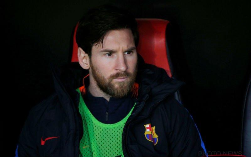 Messi zwaar in opspraak bij Barça: 'Dat mag je niet zeggen over Ronaldo'