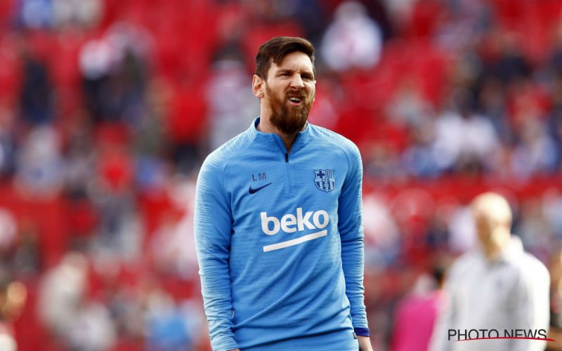 Messi wil topspeler bij Barcelona: 'Haal hem'