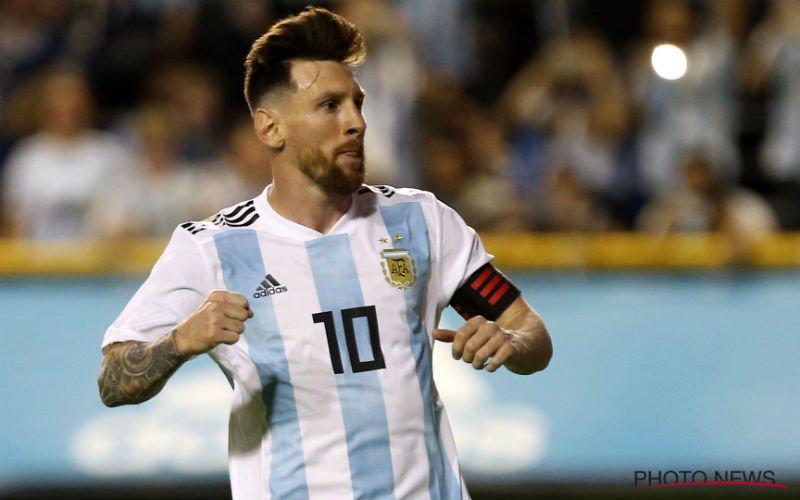 Messi klopt aan bij Barça: