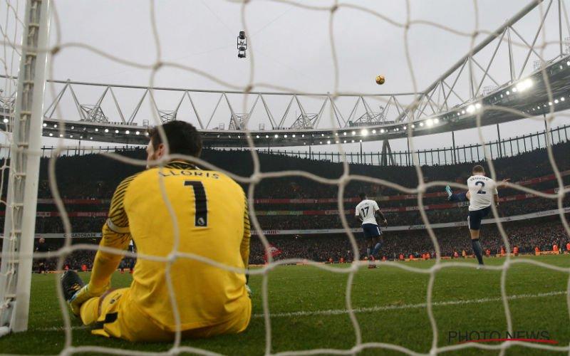 Zwak Tottenham loopt flinke kater op bij Arsenal