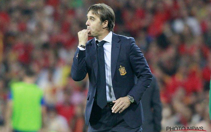 'Details Lopetegui en Real komen naar buiten en zorgen voor extra ophef'