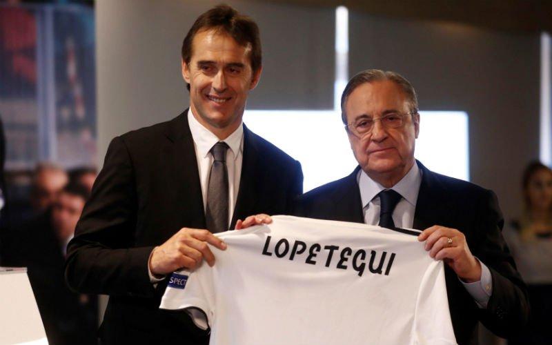 Real-coach Lopetegui schept meteen duidelijkheid over toekomst Ronaldo