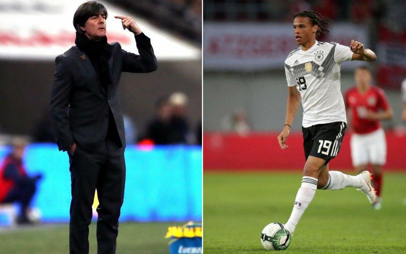 'Storm raast door de Duitse selectie na échte reden niet-selectie Sané'