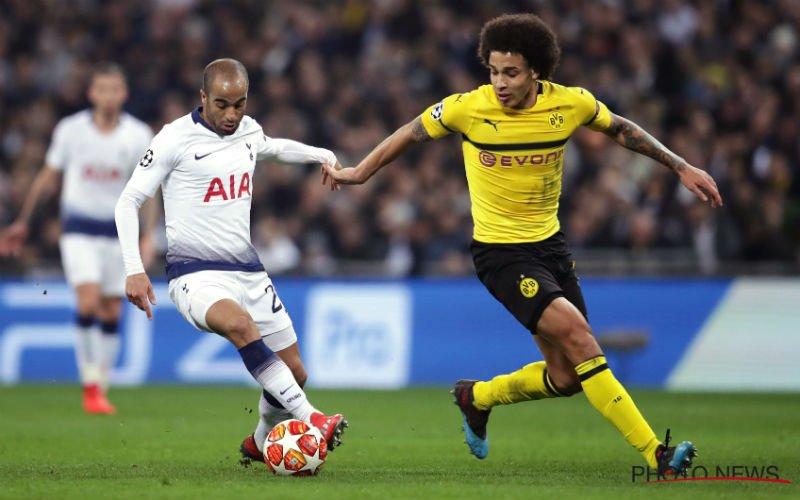 Kijkers ergeren zich tijdens Tottenham-Dortmund op Q2: