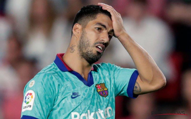 'Luis Suarez weg bij Barcelona, vervanger is bekend'