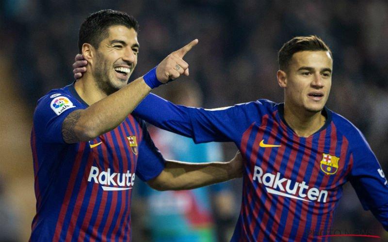 'Suarez verlaat Barcelona en staat voor erg verrassende toptransfer'