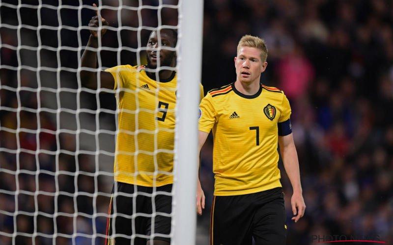 Iederéén zegt tijdens Schotland-België hetzelfde over Kevin De Bruyne