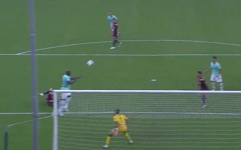 Lukaku is niet te stoppen en treft opnieuw raak voor Inter (VIDEO)