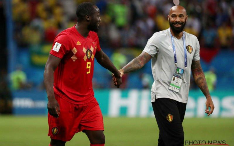Thierry Henry moét nog iets kwijt over Romelu Lukaku