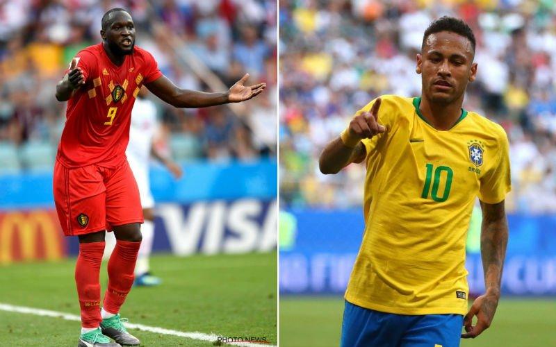 Lukaku spreekt zich uit over 'schwalbekoning' Neymar
