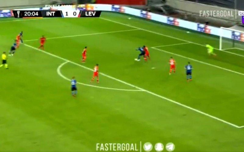 Onverzettelijke Lukaku trapt Inter richting halve finales Europa League