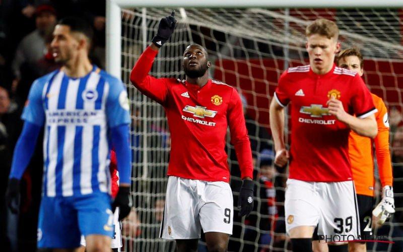Lukaku kopt Manchester United naar de halve finales van de FA Cup