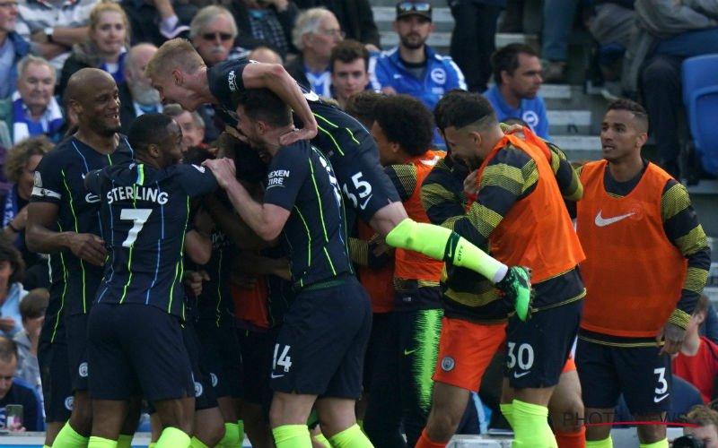 Kompany en De Bruyne vieren tweede opeenvolgende titel met Manchester City