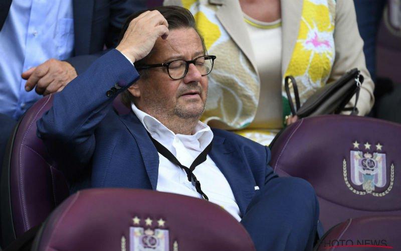 'Anderlecht grijpt drastisch in en neemt erg opmerkelijke beslissing'
