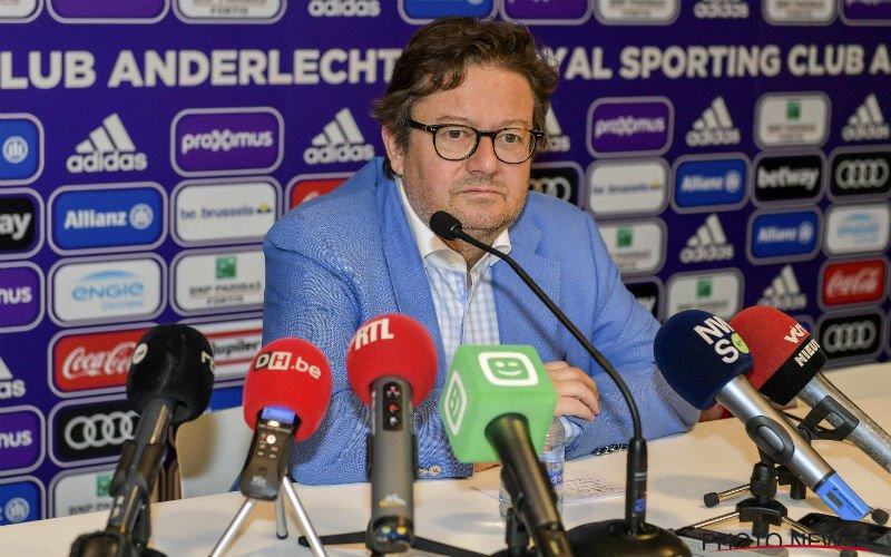 Anderlecht reageert op komst Sagnol en vertrek Vanhaezebrouck