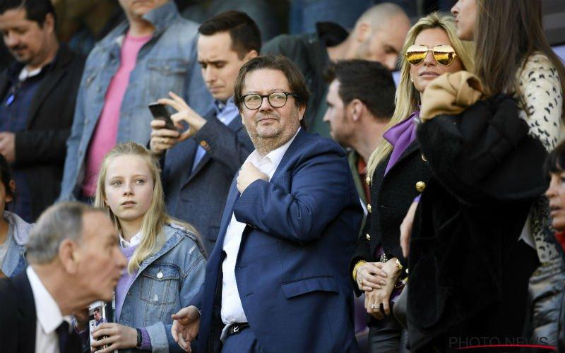Anderlecht-supporters eisen het onmiddellijke vertrek van Marc Coucke