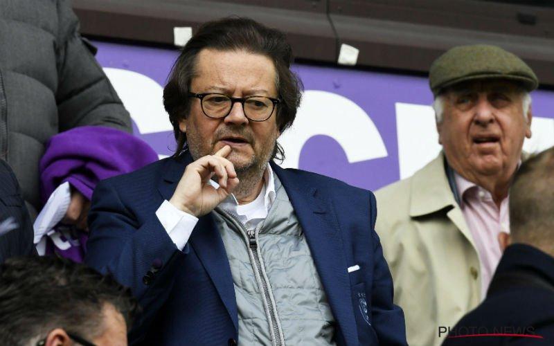 Marc Coucke komt met slecht nieuws voor Anderlecht-fans