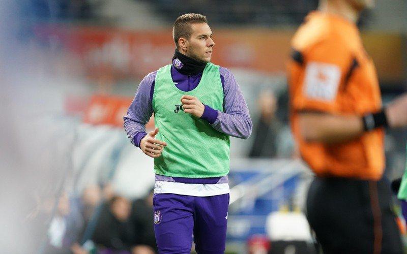 Marko Pjaca schrikt zich rot bij Anderlecht: