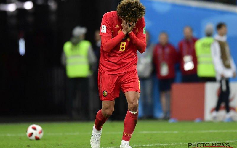 Martinez reageert op vreemde situatie met Fellaini