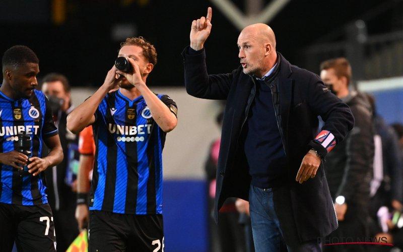 Club Brugge-fans keren zich tegen Clement: