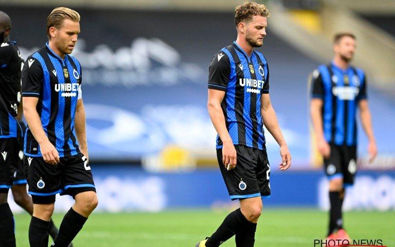 Pijnlijk: 'Forfaitnederlaag dreigt voor Club Brugge'