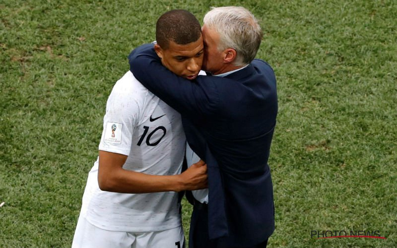 'Didier Deschamps hakt knoop door over Kylian Mbappé'
