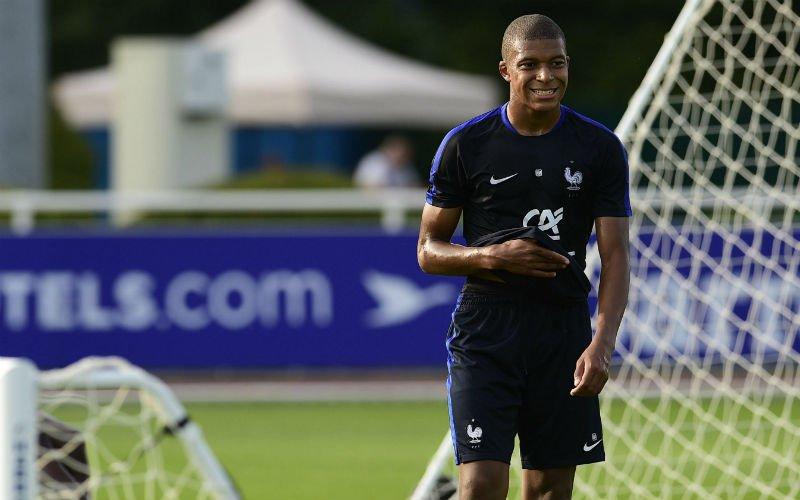 Mbappé verrast iedereen: