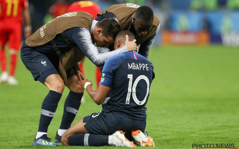 Kylian Mbappé toont zijn gouden hart na wedstrijd tegen Rode Duivels