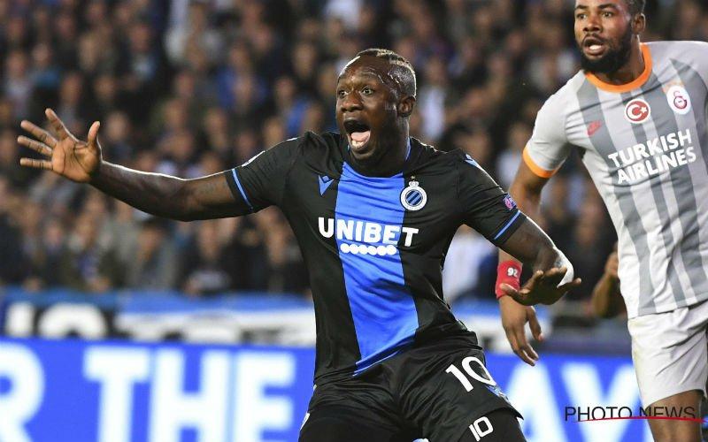 Mbaye Diagne reageert erg giftig na nieuwe niet-selectie bij Club Brugge