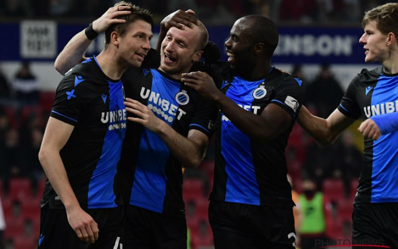 Club Brugge spot met Manchester United: