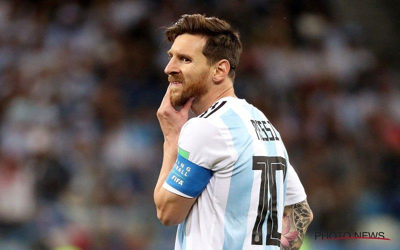 Bom ontploft helemaal bij Argentinië: 'Messi én zeven (!) spelers stoppen'