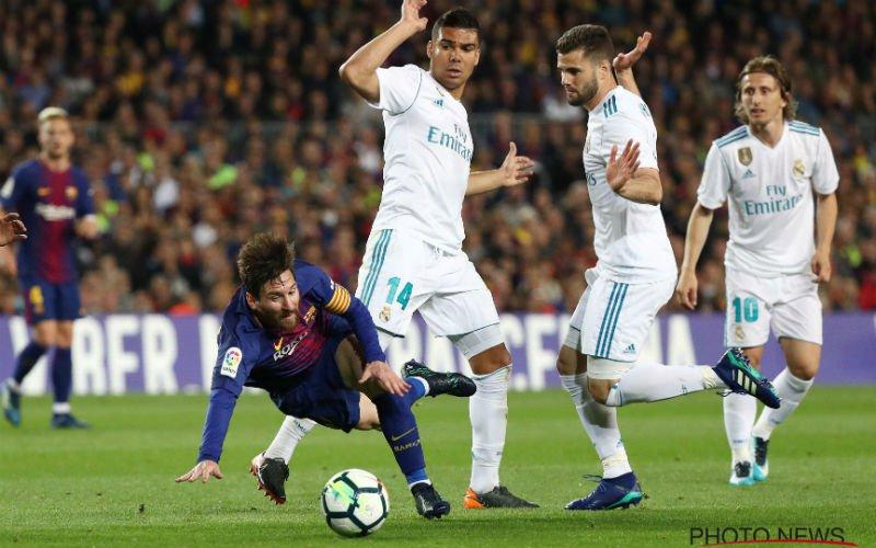 Sergio Ramos dropt bom over Messi na Barcelona-Real Madrid