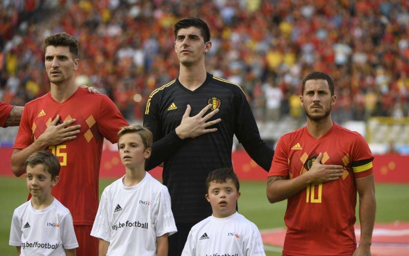 """Thibaut Courtois doet bekentenis over Eden Hazard: """"Nog nooit"""""""