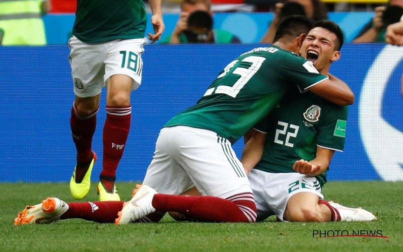 Mexico zorgt voor ongelofelijke stunt tegen Duitsland