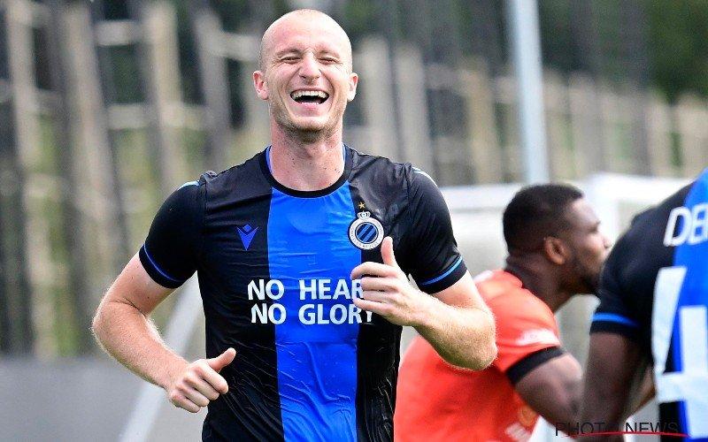 Michael Krmencik maakt indruk met hattrick in oefenmatch van Club Brugge