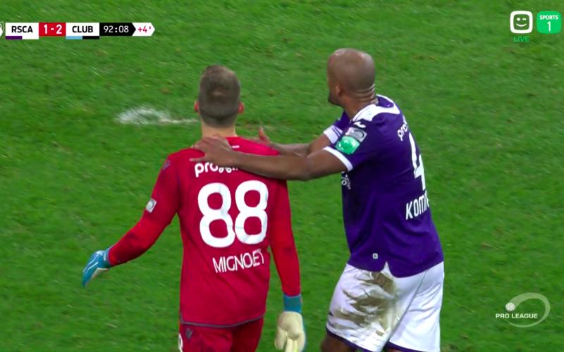 Anderlecht grijpt drastisch in na incident met Simon Mignolet in de hoofdrol
